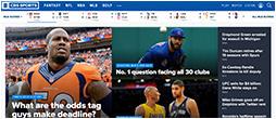 CBS network sport
